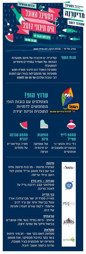 פסטיבל האוכל הים התיכוני 2017